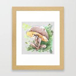 Empire of Mushrooms: Boletus Edulis Framed Art Print