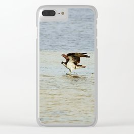 Dancing on the Sandbar Clear iPhone Case