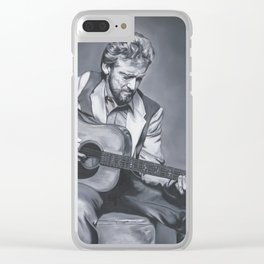 Keith Whitley Clear iPhone Case