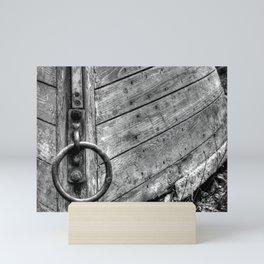 Boat at Rest Mini Art Print