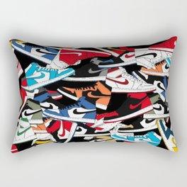 Jordan 1 Pattern Rectangular Pillow