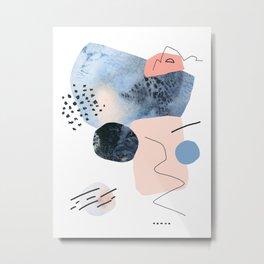 Winter's  Echo Metal Print