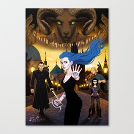 Daughter of Smoke and Bone Canvas Print