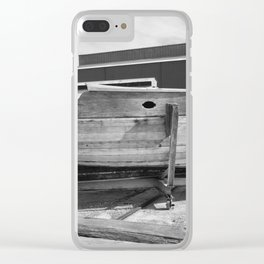 Old Wooden Boat Clear iPhone Case