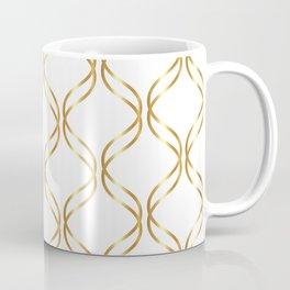 Double Helix - Gold #741 Coffee Mug