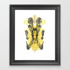 Fashion Bodice Framed Art Print