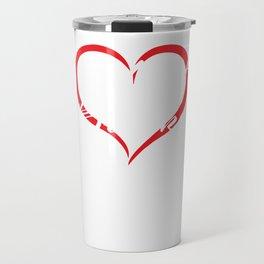 Heart Breaker Happy Valentine's Day Gift Travel Mug