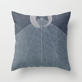 All Things Are One Throw Pillow