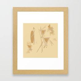 Geometrical Shape Framed Art Print
