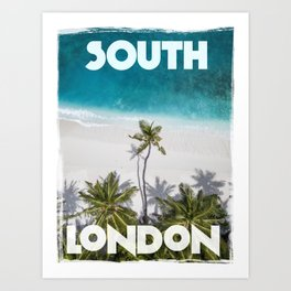 South London Art Print