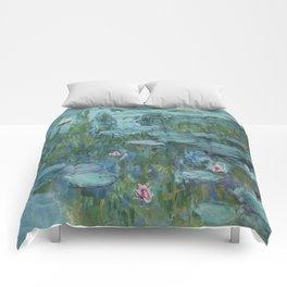 Nymphéas, Claude Monet Comforters