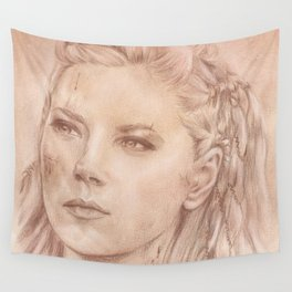 Shield Maiden Wall Tapestry