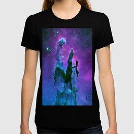 Nebula Purple Blue Pink T-shirt