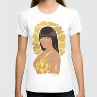 nicki T-shirts featuring Nicki, What's Good? by KnoblArt
