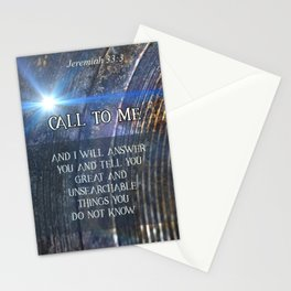 Call To Me Stationery Cards