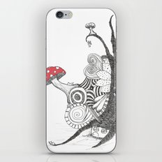 Sleepingland iPhone & iPod Skin