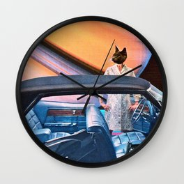Self Defense Wall Clock