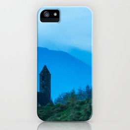 Blue day at Glendalough(RR 170) iPhone Case