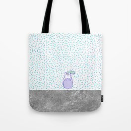Waiting for Catbus Tote Bag