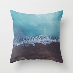 Oceans away Throw Pillow