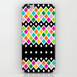 DIAMOND - Black iPhone Skin