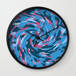 Abstract organic pattern 20 Wall Clock