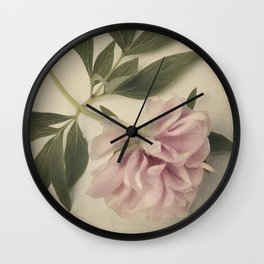 Scents of Spring - Pink Peony ii Wall Clock