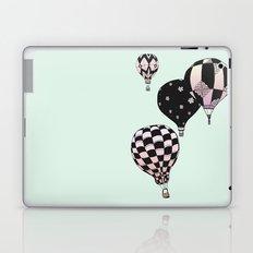 Pastel Skies Hot Air Balloon Rides Laptop & iPad Skin