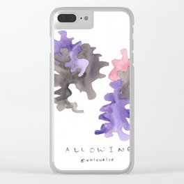Matisse Inspired   Becoming Series    Allowing Clear iPhone Case