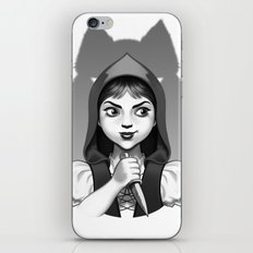 Little Red Riding Hood's Surprise iPhone & iPod Skin