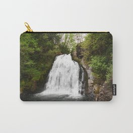 Young's River Falls Waterfall Oregon Pacific Northwest Forest Landscape Outdoors Hiking Travel Carry-All Pouch