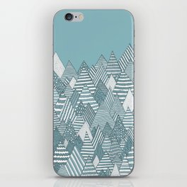 Winterly Forest iPhone Skin