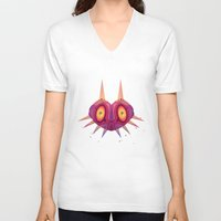 majora V-neck T-shirts featuring MAJORA by Spencer Duffy