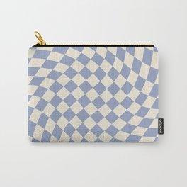 Blue Sky Checker Carry-All Pouch