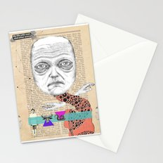 My life with men... Stationery Cards