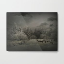 Winterabend Metal Print