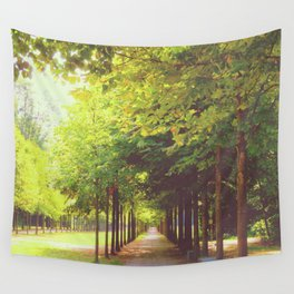 Tree Alley Wall Tapestry