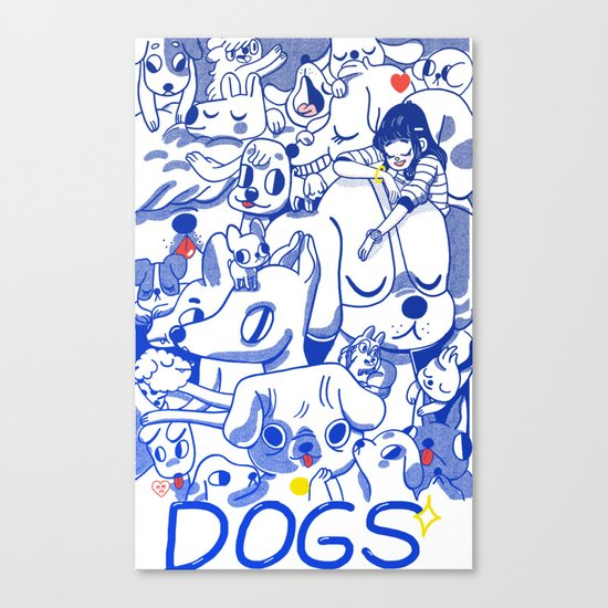 Dogs✧ Canvas Print
