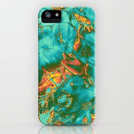 fire opal rift iPhone Case