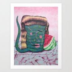My Date with Deborah Art Print