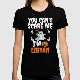 Can't scare I'm Libyan Halloween Libya T-shirt