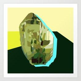 Olive Gem Art Print