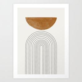 Minimalist Space Art Print