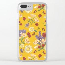 Jubilee in Honey Clear iPhone Case