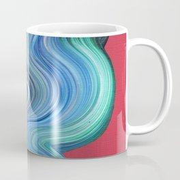 Blue Brush Stroke Coffee Mug