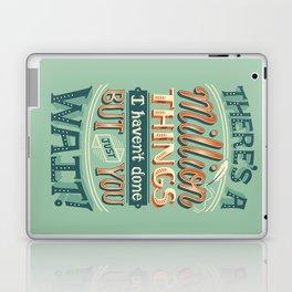 Just You Wait Laptop & iPad Skin