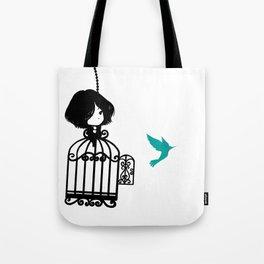 Colibri Cage Tote Bag
