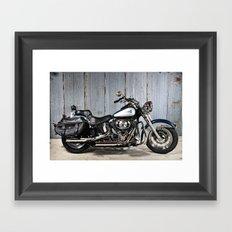 Heritage Softail Framed Art Print