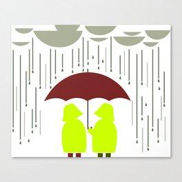 Share my Umbrella Canvas Print