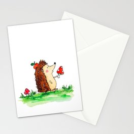 Howie the Hedgehog Stationery Cards